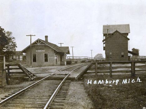 Hamburg MI railroads